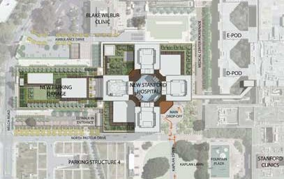 Plans for the Kaplan Lawn