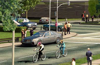 Rendering of Welch Rd.